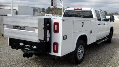 Service Body with Tommy Lift Gate