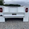 Knapheide single rear wheel 8ft flip-top service bed